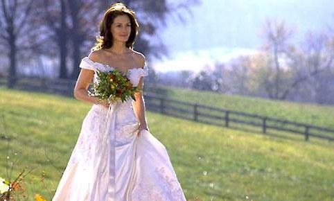 La robe de mariée dans La mariée est en fuite.