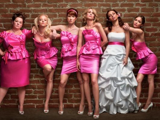 Robes de demoiselles d'honneur en couleur rose