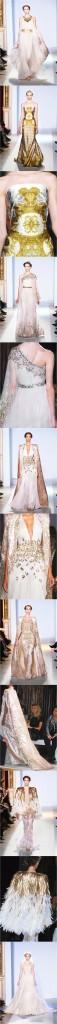 Battrie photo Zuhair Murad Couture 2013 - Robes de soirée chic
