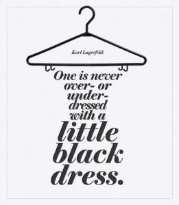 la commentaire de Karl Lagerfeld