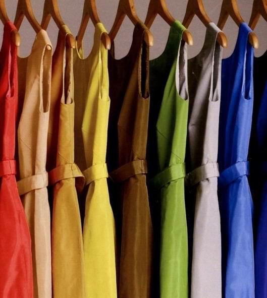 différentes couleurs d'un même robe