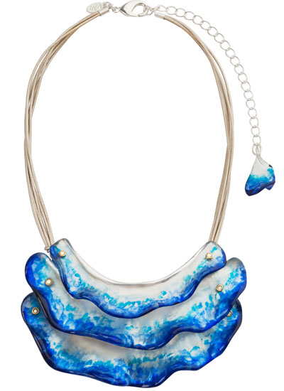 Bijoux fantaisie : Collier en forme de vague de Lalo Treasure