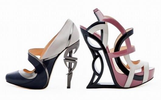 Tendance 2013 - Chaussures architecturales - VS2R Vincenzo Somarelli - Escarpins Sandales
