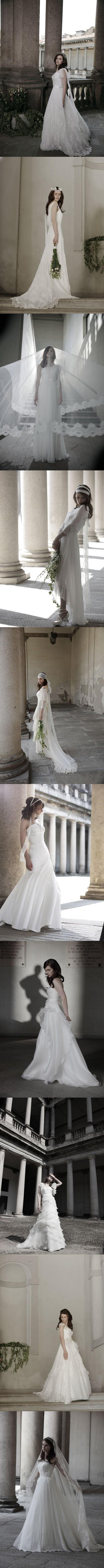 10 robes de mariage dans la quatrième collection de la série Forever de Alberta Ferretti en 2014