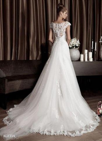 robe de mariage ligne-A  Robe de soirée chic