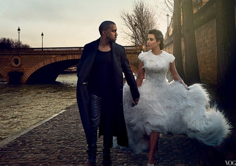 Les photos du shooting de Kim et Kanye pour Vogue