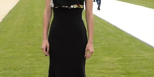 La robe noire vue par trois stars de trois générations différentes. (I)