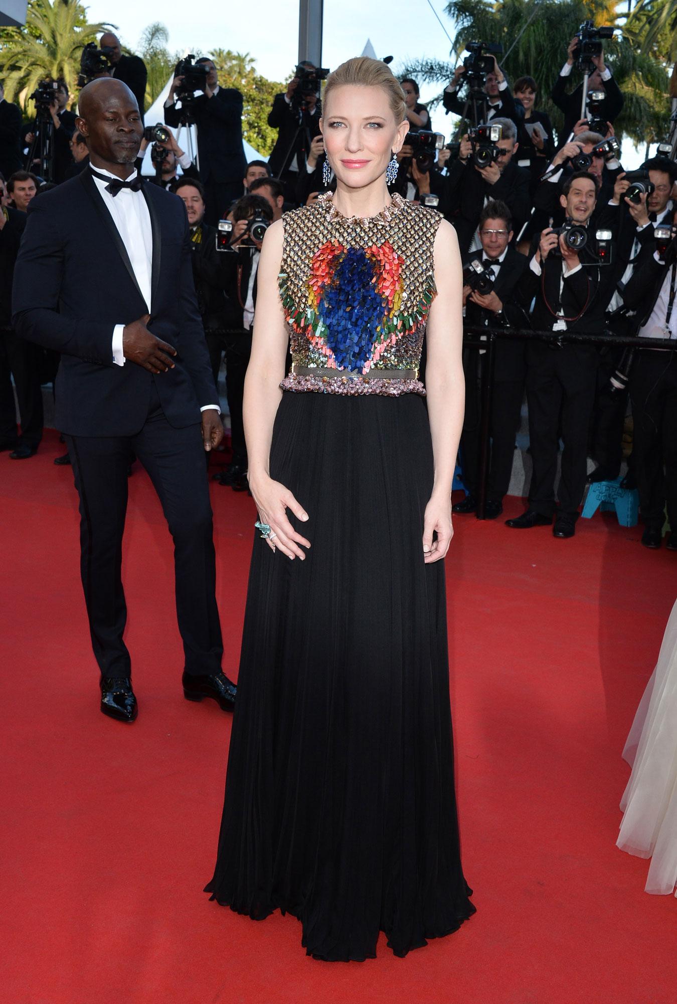 Cate Blanchett dans une robe de soirée longue signée Givenchy