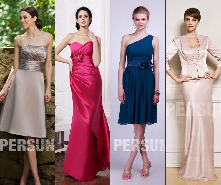 robe de soirée pour mariage pas cher