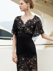 robe-soiree-pour-mariage-noire