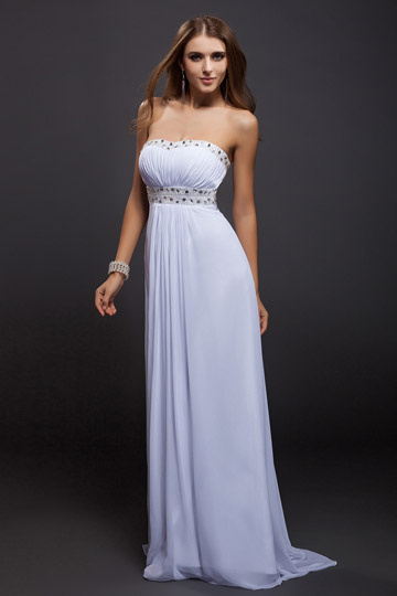 robe-de-soiree-blanche-longue-bustier