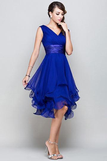 robe-de-soiree-bleu-courte