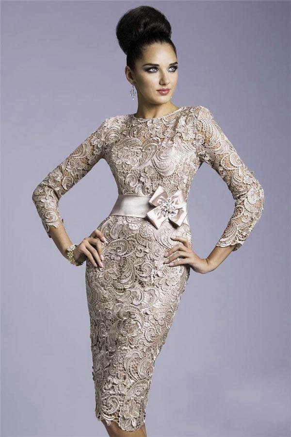robe-de-soiree-courte-fourreau-en-dentelle