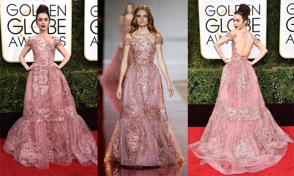 Robe de soirée rose: Soyez glamour à souhait avec cette parure.