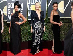 s'habiller en noire Golden Globe 2018