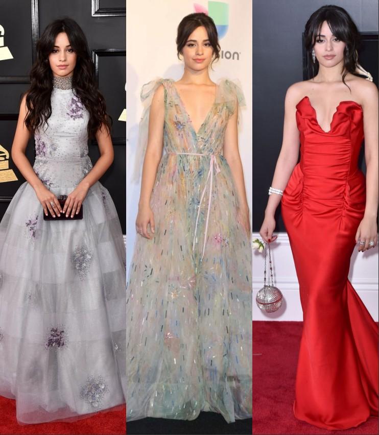 Looks de Camilla Cabelo de Grammy awards
