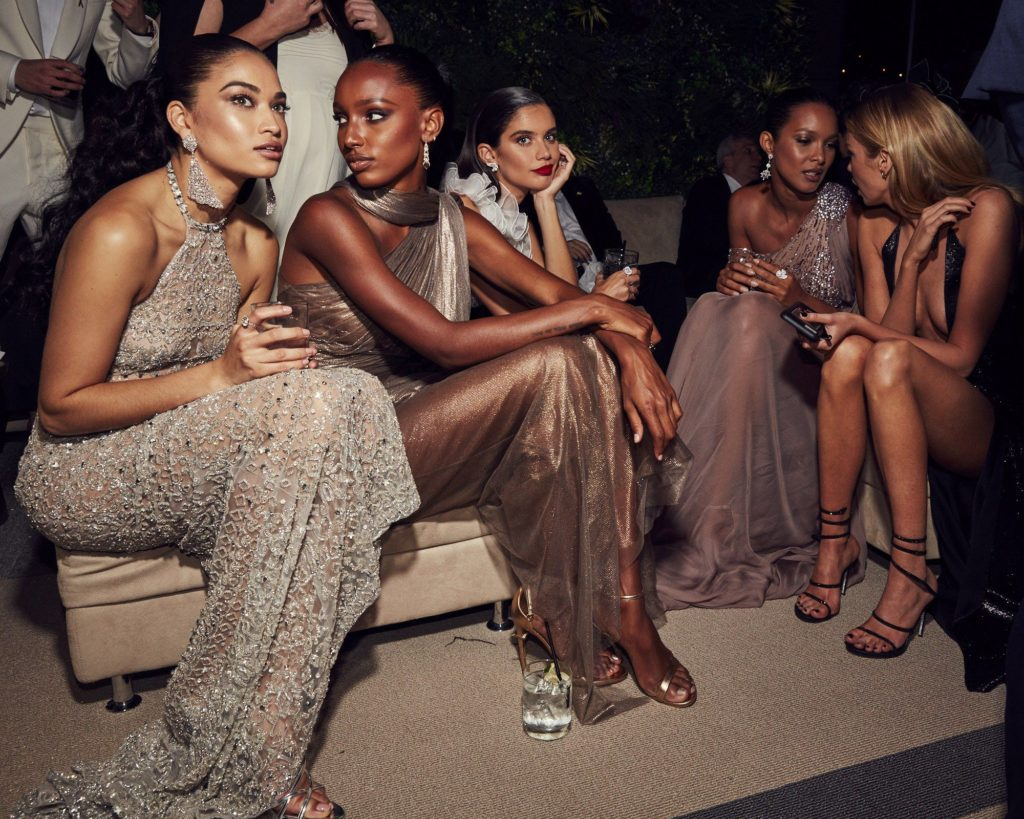 Jasmine prit, Taylor Hill à la soirée Vanity Fair 2018