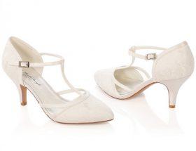 chaussure de mariage ivoire