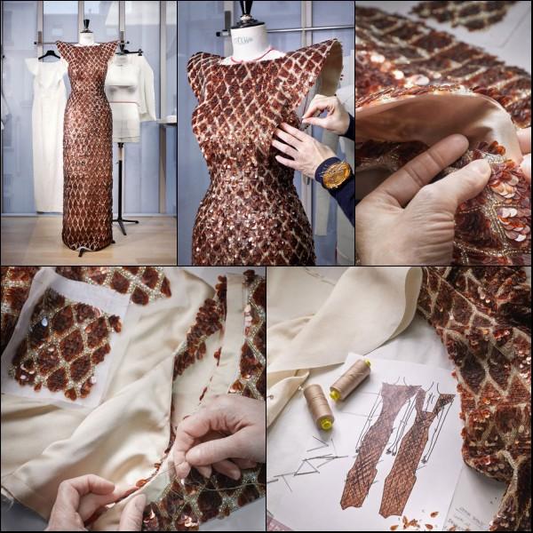 robe Louis Vuitton d'Emma Stone aux Oscars 2019