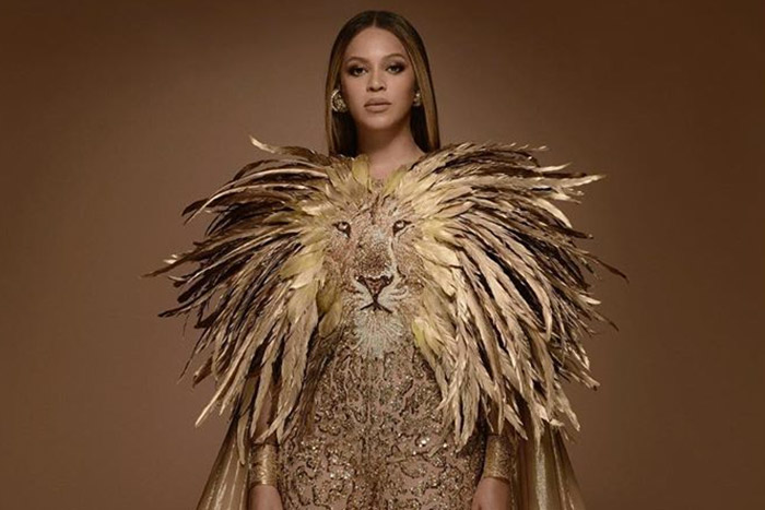 Beyoncé au wearable art gala 2019