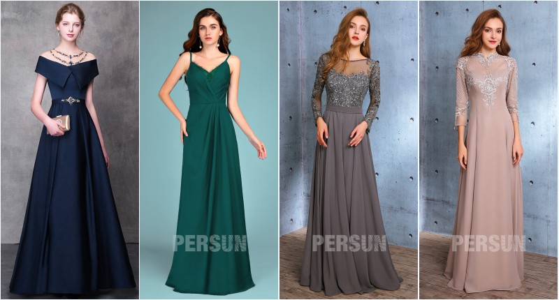 robes longues de soirée élégantes