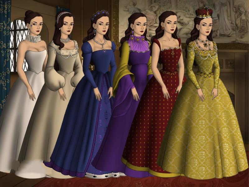 Anne Boleyn apporte une tendance de robe de soirée