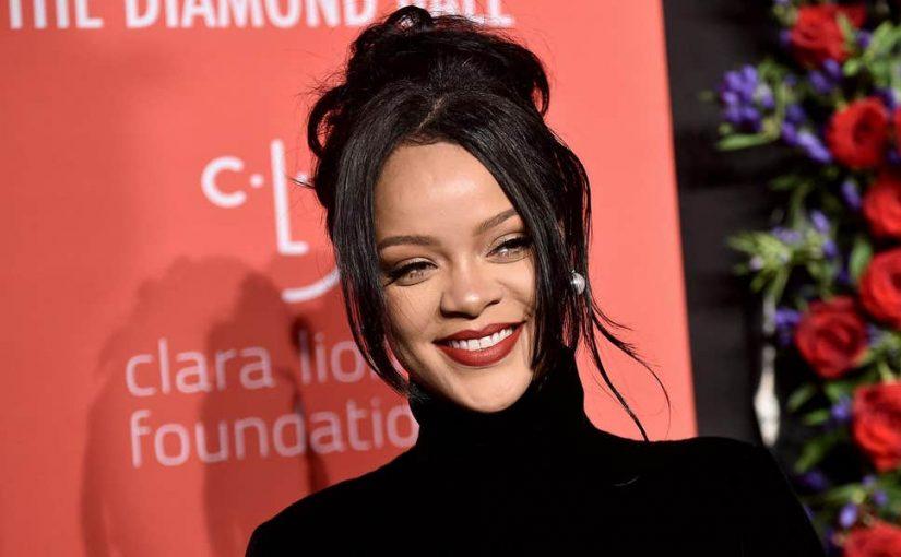Le look glamour et vintage Rihanna au Diamond Ball 2019