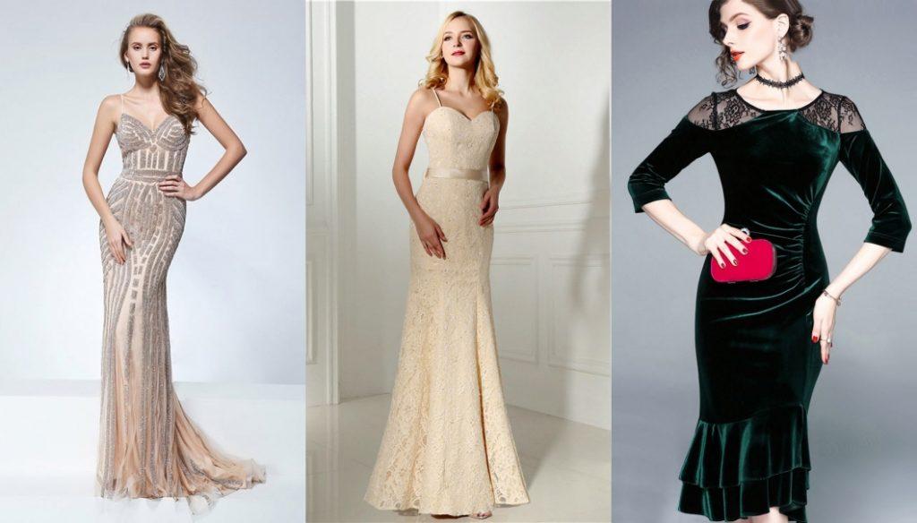 robe de soirée sirène magnifique persun