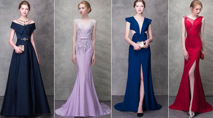 Robe de soirée : 5 couleurs à la mode