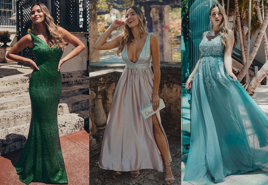 robe de soirée tendance pour  événement 2020